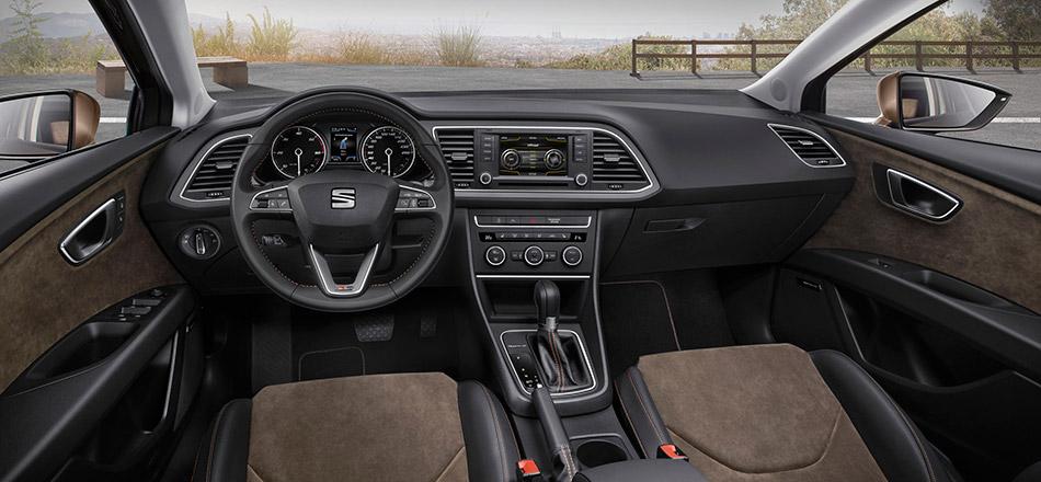 2014 Seat Leon X-Perience Interior