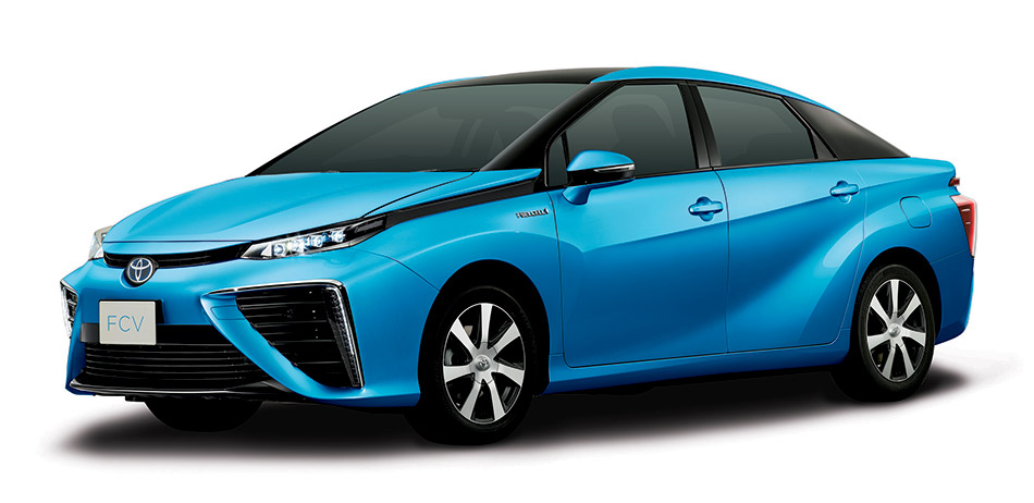 2015 Toyota Fuel Cell Sedan Front Angle