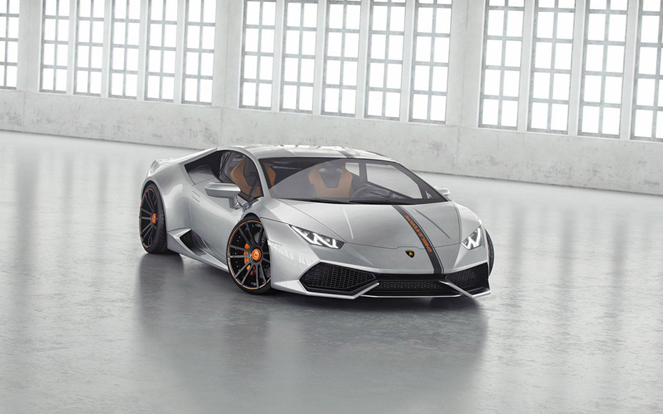 2014 Wheelsandmore Lamborghini LP850-4 Huracan Lucifero Front Angle