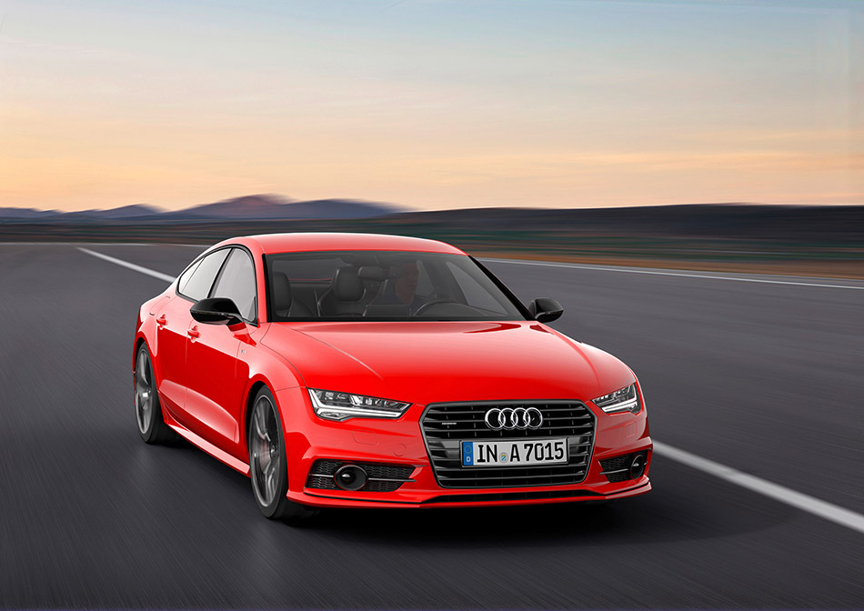 2014 Audi A7 Sportback 3.0 TDI Competition Front Angle
