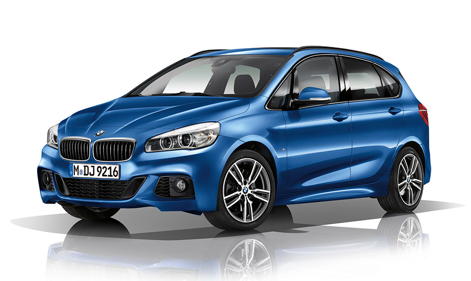 2015 BMW 2-series Active Tourer M Sportpackage Front Angle