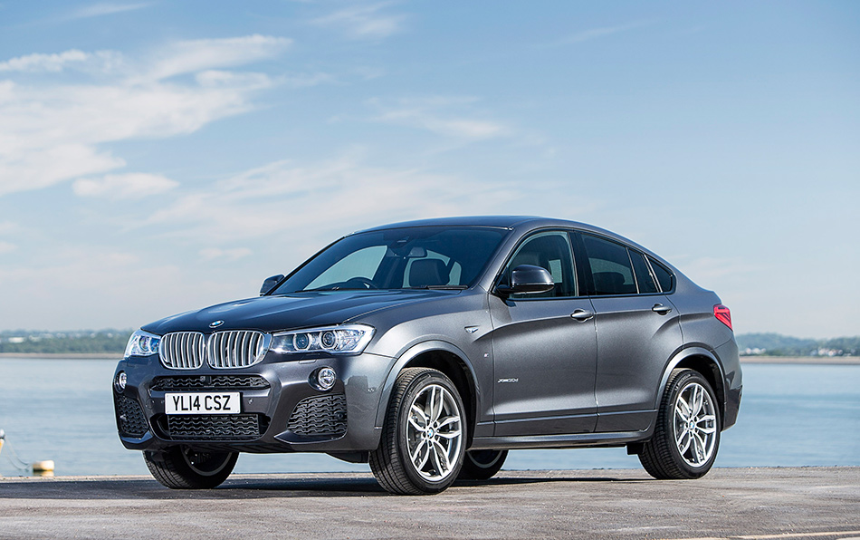 2015 BMW X4 UK Version Front Angle