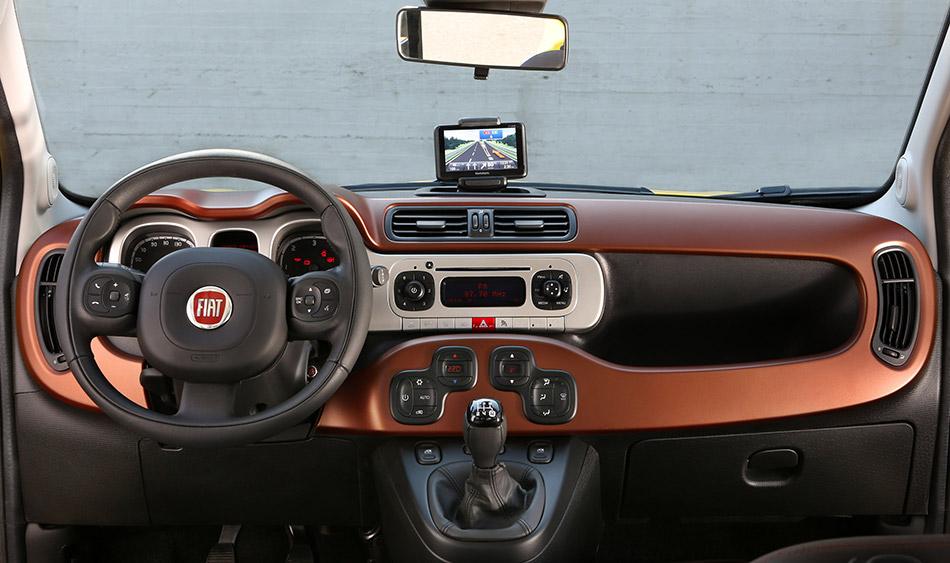 2015 Fiat Panda Cross Interior