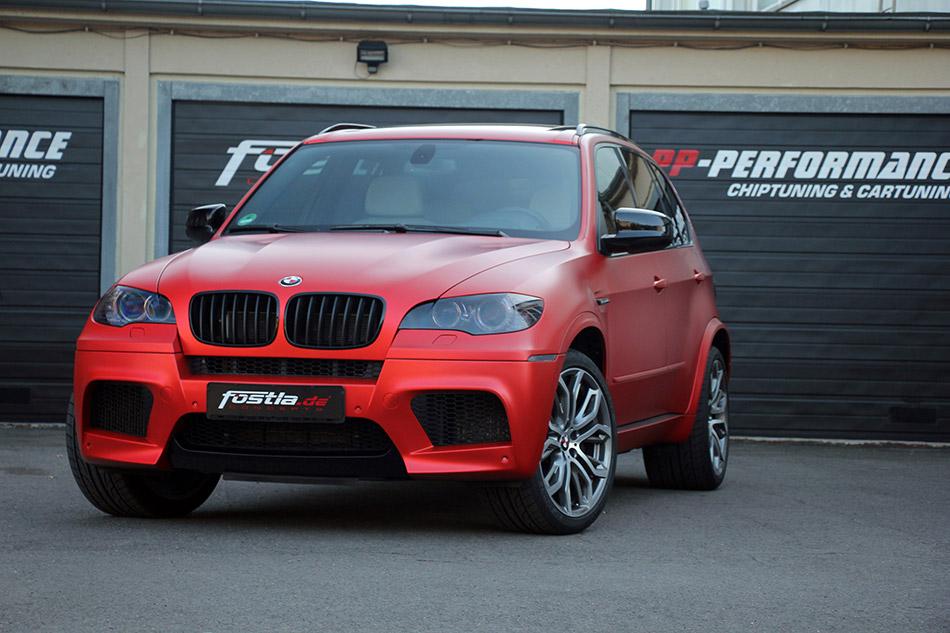 2014 Fostla BMW E70 X5 M Front Angle