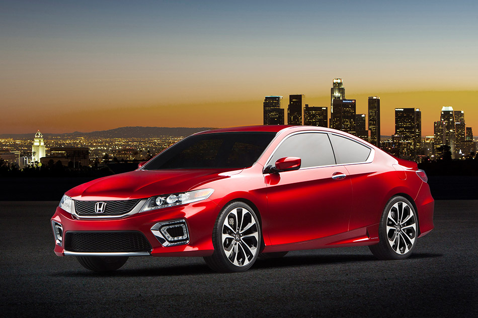 2012 Honda Accord Coupe Concept Front Angle