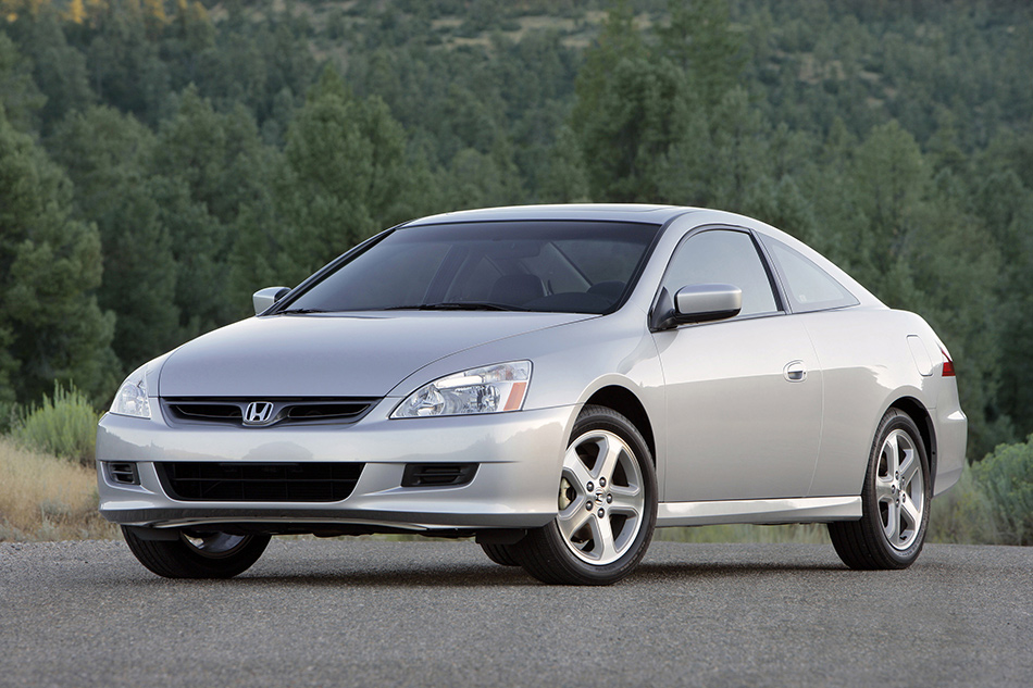 2007 Honda Accord Coupe EX-L Front Angle