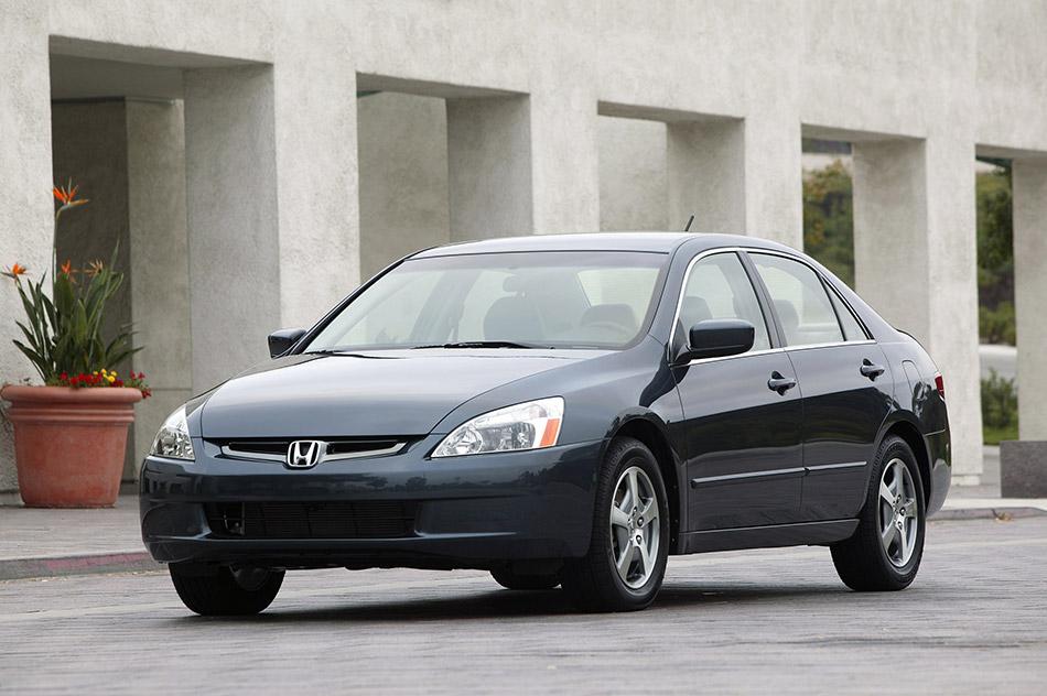 2005 Honda Accord Hybrid Front Angle