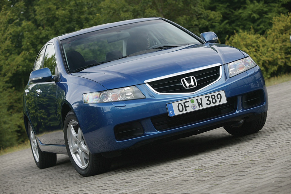 2004 Honda Accord Ictdi European Version Hd Pictures