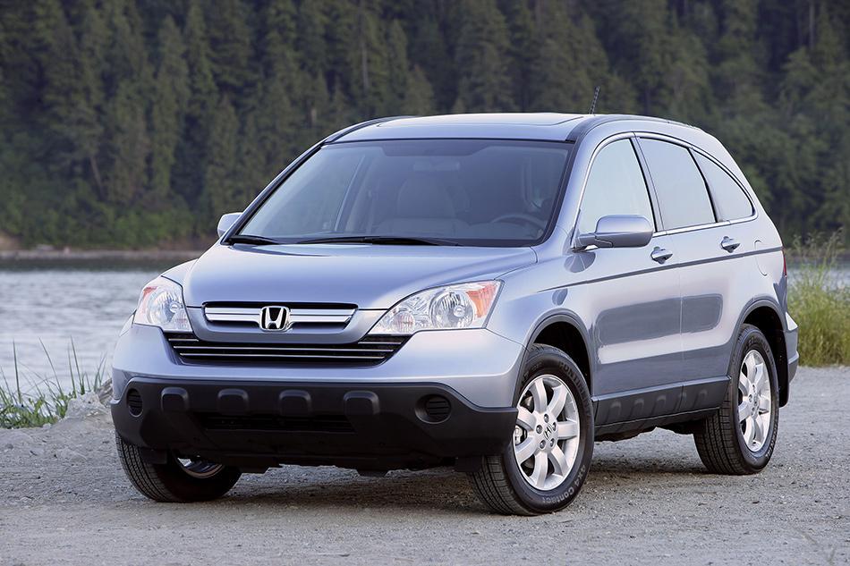 2007 Honda CR-V Front Angle