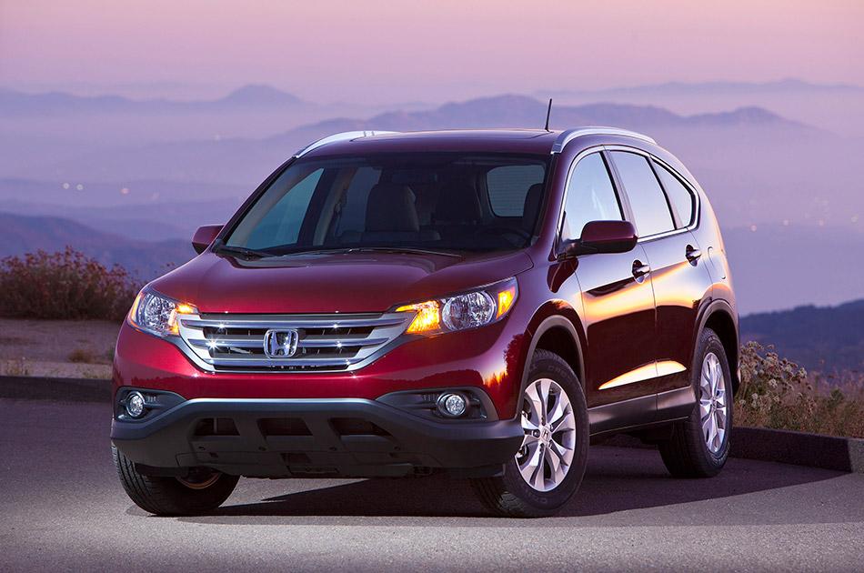 2012 Honda CR-V Front Angle