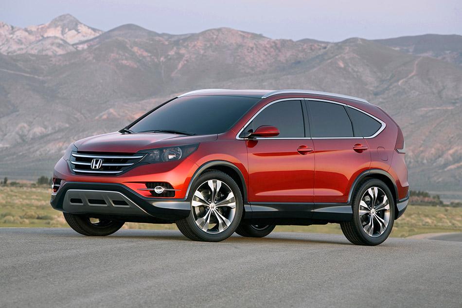 2011 Honda CR-V Concept Front Angle