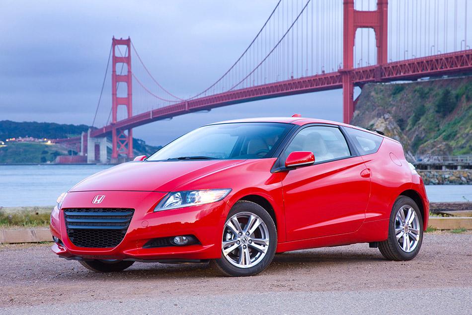 2012 Honda CR-Z Front Angle