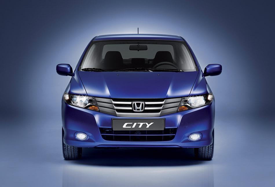 2009 Honda City Front Angle