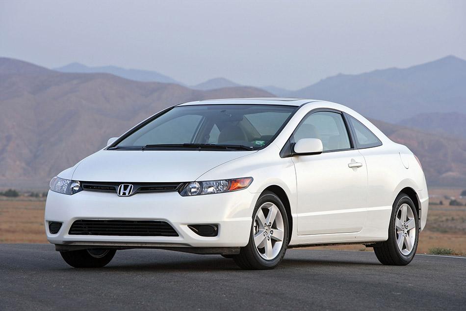 2006 Honda Civic Coupe Front Angle