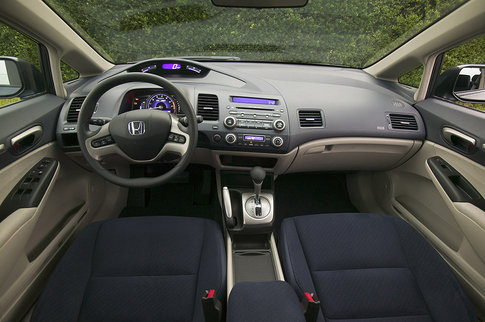 2006 Honda Civic Hybrid Interior