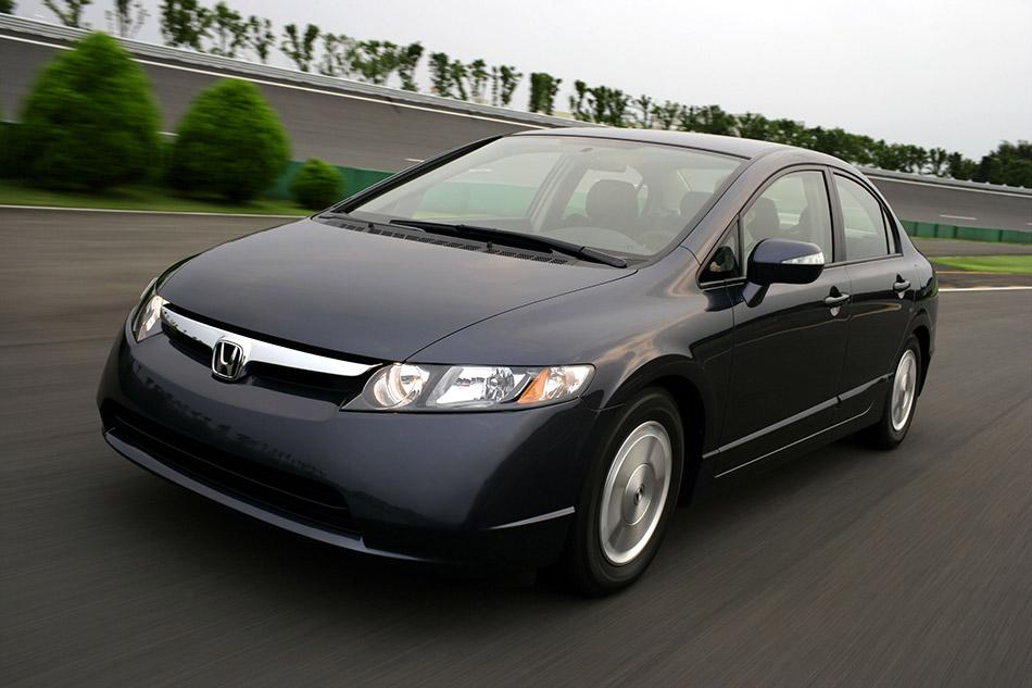2006 Honda Civic Hybrid Front Angle
