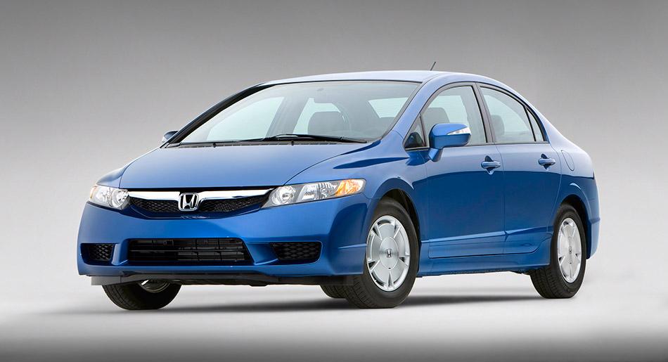 2009 Honda Civic Hybrid Front Angle