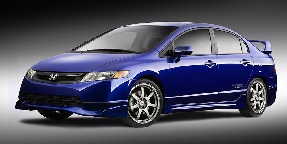 2008 Honda Civic Mugen Si Sedan Front Angle