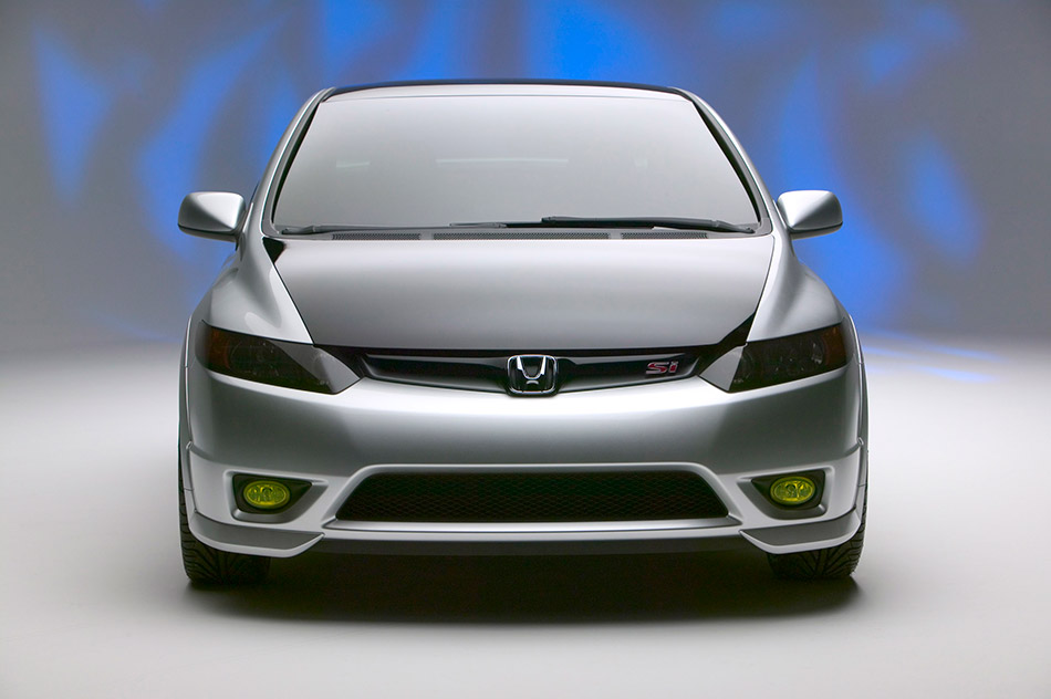 2005 Honda Civic Si Concept Front Angle