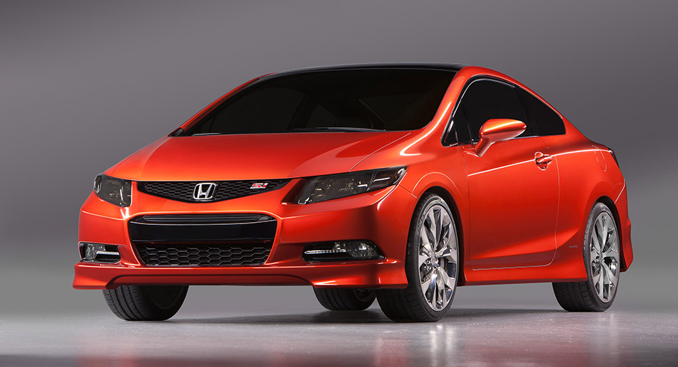2011 Honda Civic Si Concept Front Angle