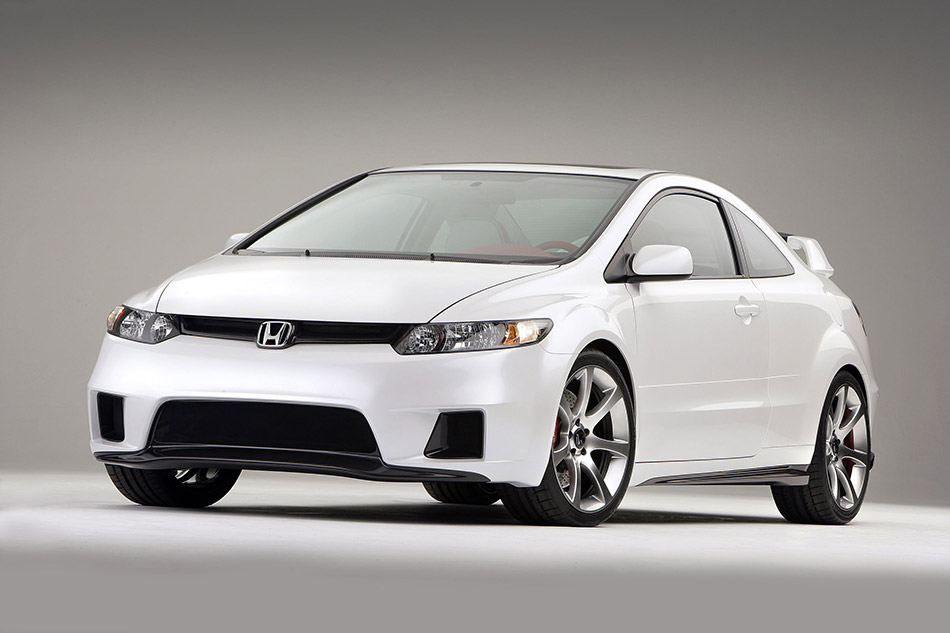 2005 Honda Civic Si Sport Concept Front Angle