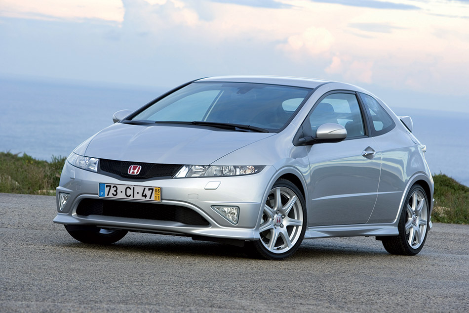 2007 Honda Civic Type R Front Angle