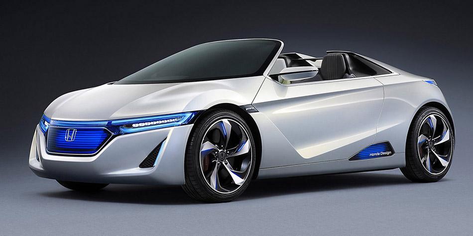 2011 Honda EV-Ster Concept Front Angle