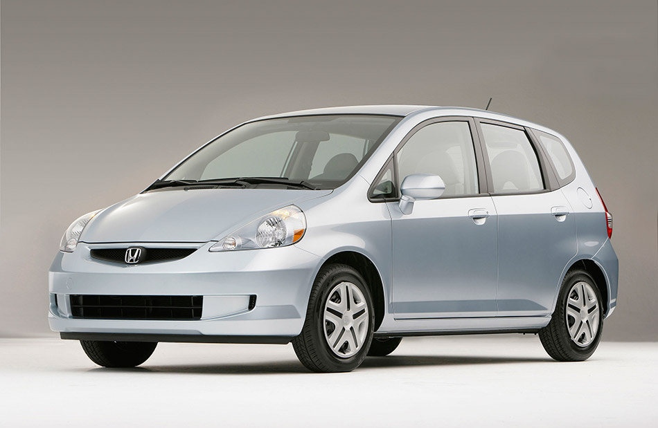 2008 Honda Fit Front Angle