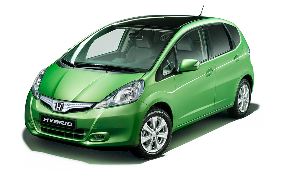 2011 Honda Jazz Hybrid Front Angle