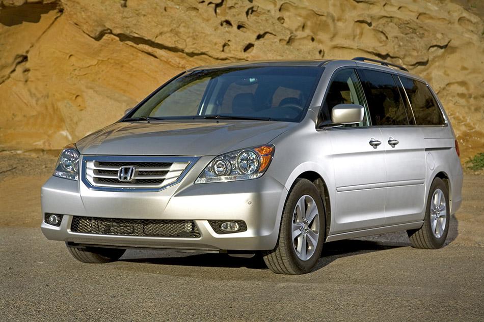 2009 Honda Odyssey Front Angle