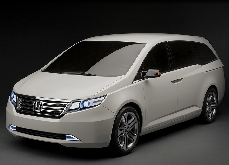 2010 Honda Odyssey Concept Front Angle