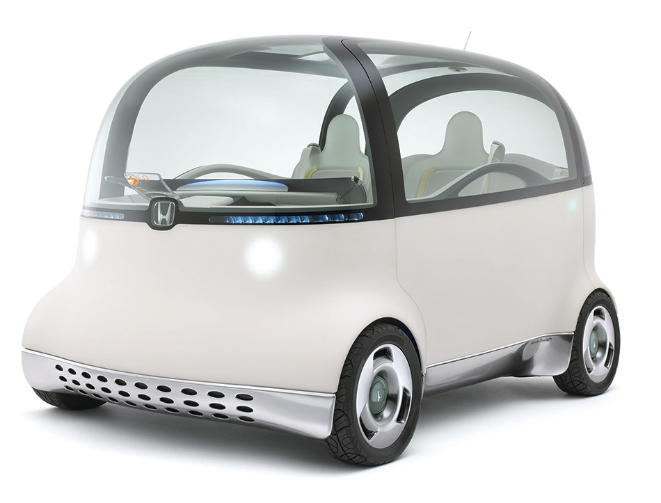 2007 Honda PUYO Concept Front Angle