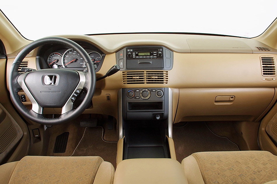 2003 Honda Pilot LX Interior