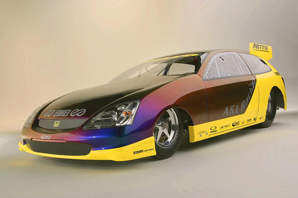 2003 Honda Pro Drag Civic Si Concept Front Angle