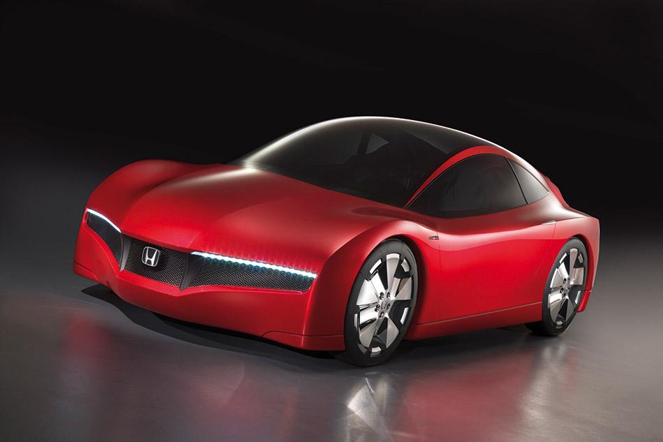 2007 Honda Small Hybrid Sports Concept Front Angle
