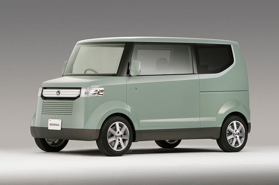 2006 Honda Step Bus Concept Front Angle