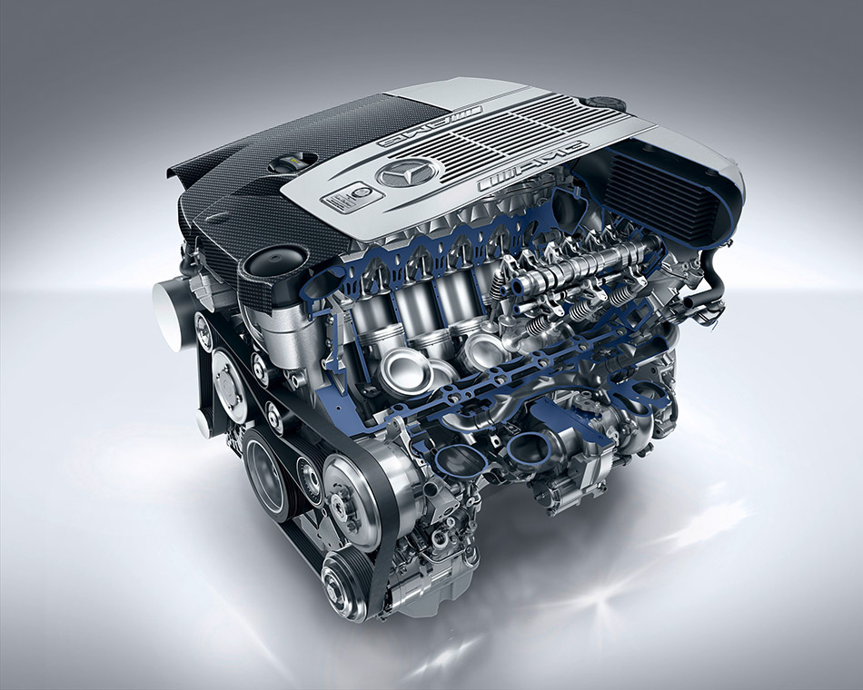 2015 Mercedes-Benz S 65 AMG Coupe Engine