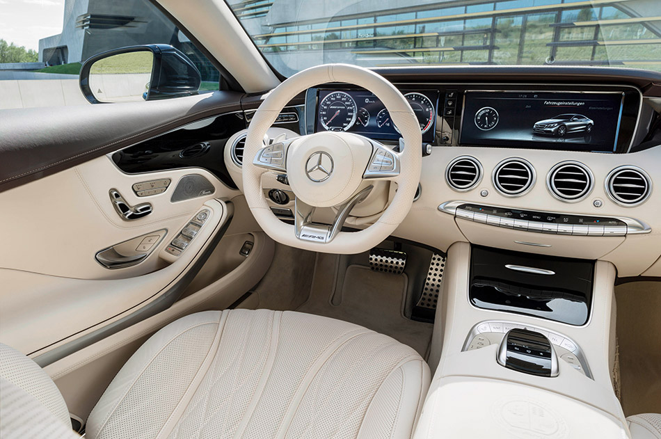 2015 Mercedes-Benz S 65 AMG Coupe Interior