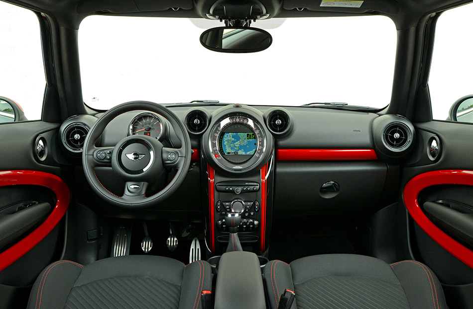 2015 Mini Paceman John Cooper Works Interior