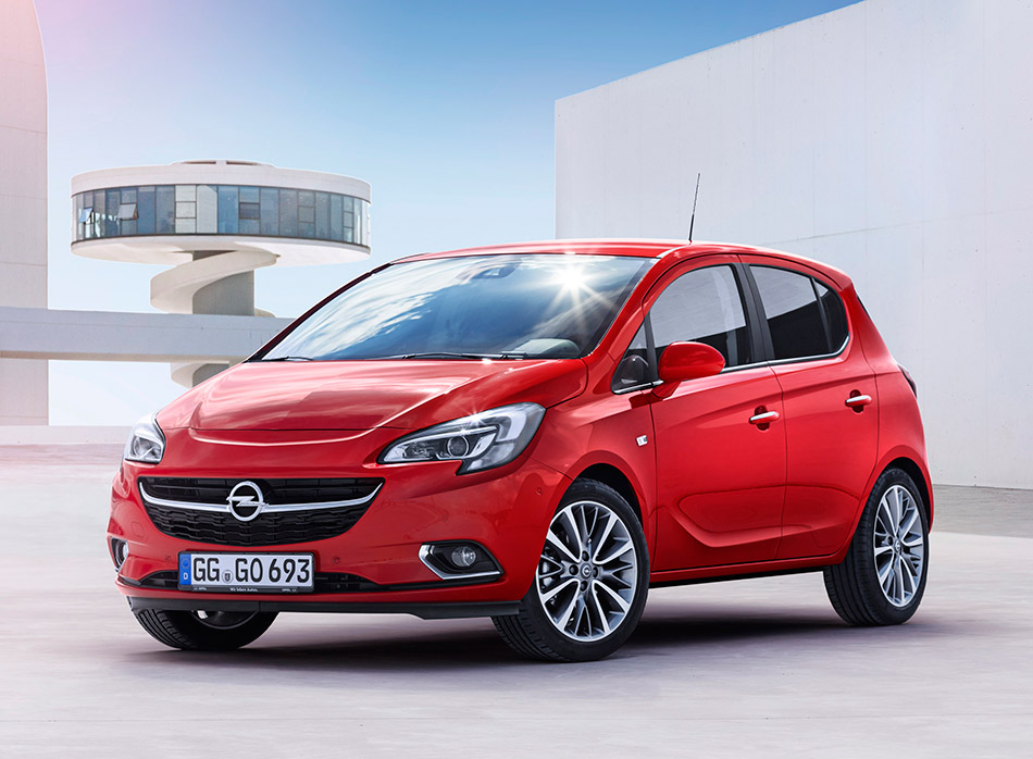 2015 Opel Corsa Front Angle
