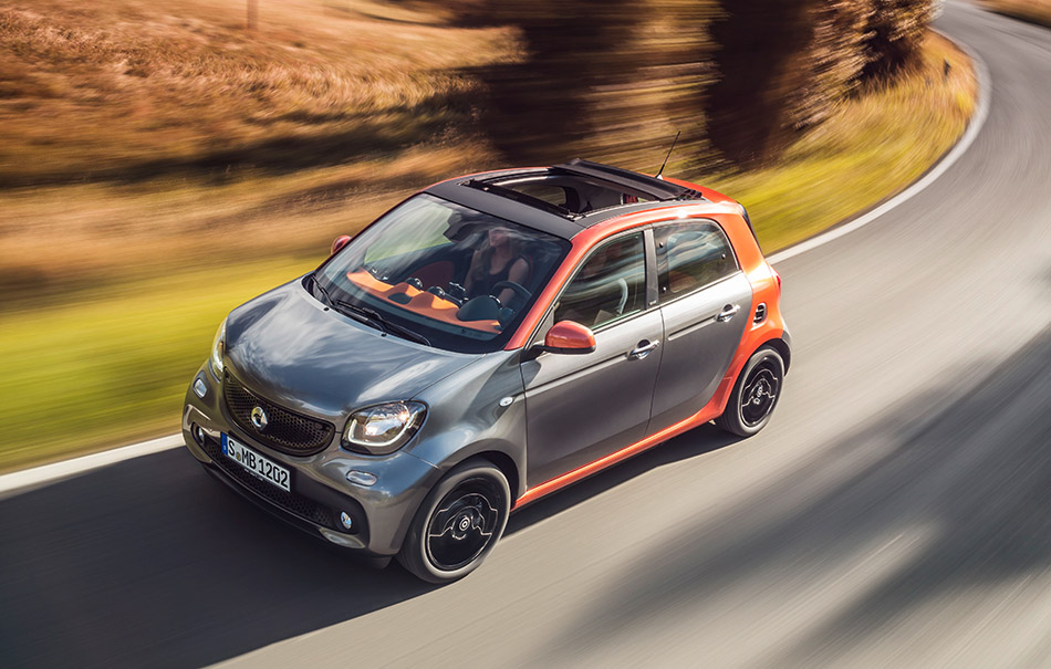 2015 Smart Forfour Front Angle