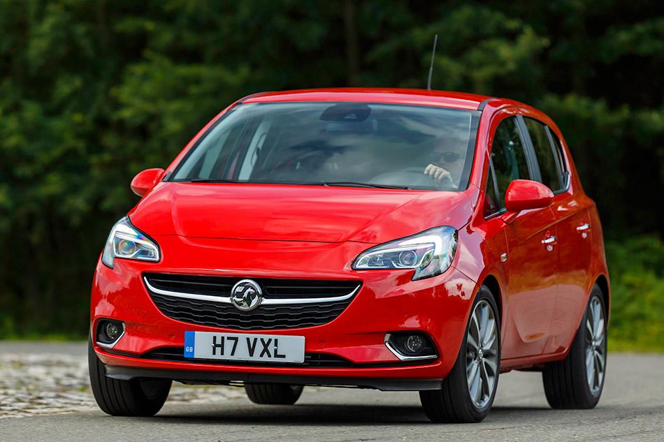 2015 Vauxhall Corsa Front Angle