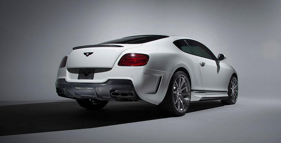 2014 Vorsteiner Bentley Continental GT BR10-RS Edition Rear Angle