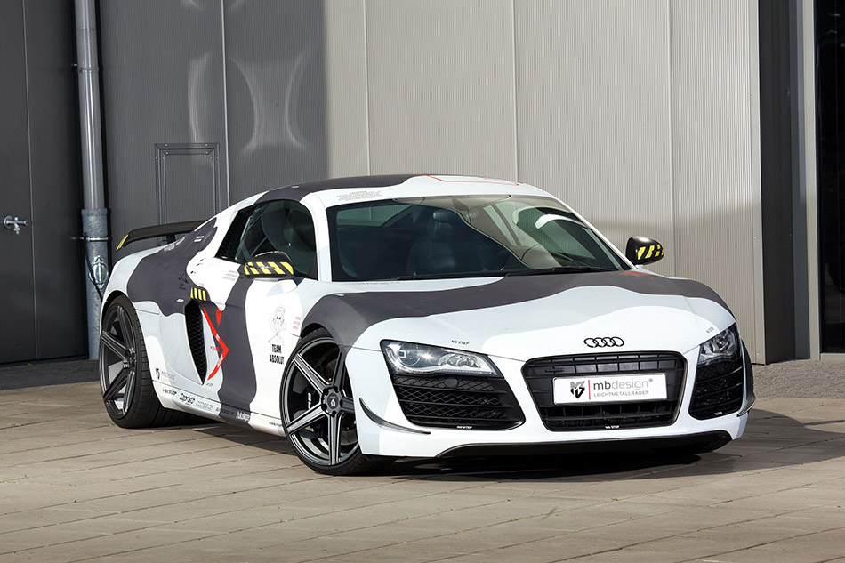 2014 mbDESIGN Audi R8 Front Angle