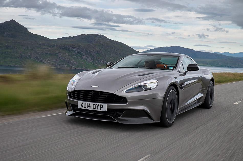 2015 Aston Martin Vanquish Front Angle