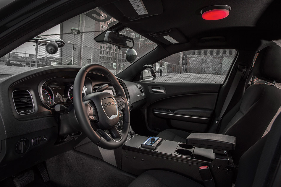 2015 Dodge Charger Pursuit Interior