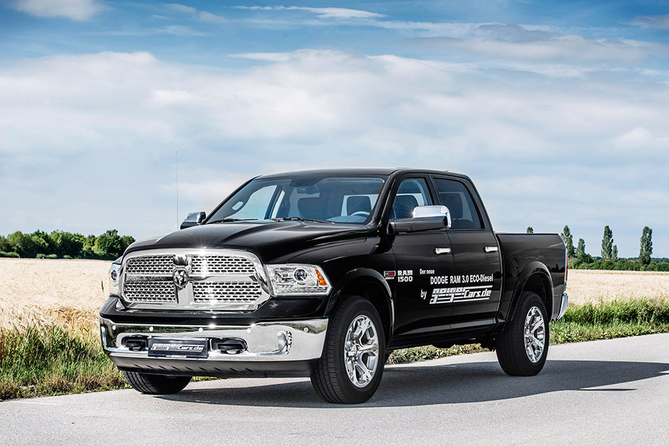 2014 GaigerCars Dodge RAM 1500 EcoDiesel Front Angle