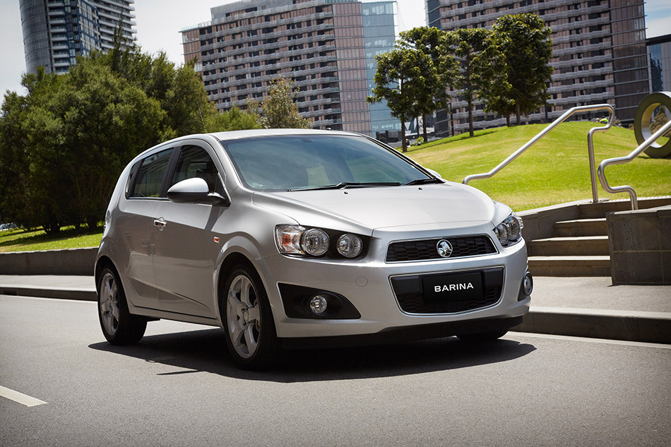 2013 Holden Barina Hatch Front Angle