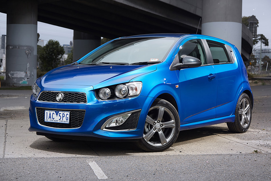 2014 Holden Barina RS Front Angle
