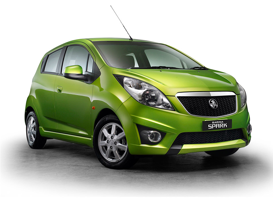 2011 Holden Barina Spark CDX Front Angle